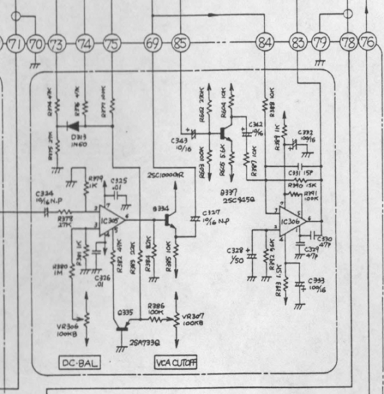 System 100 102 VCA schematic