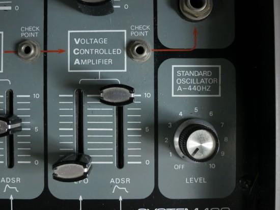 System 100 VCA Panel