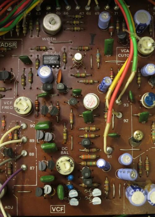 System 100 VCF inside