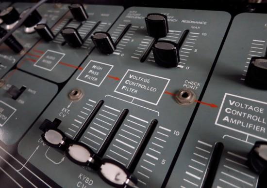 System 100 VCF panel