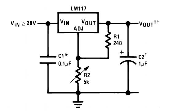 LM317 schematic