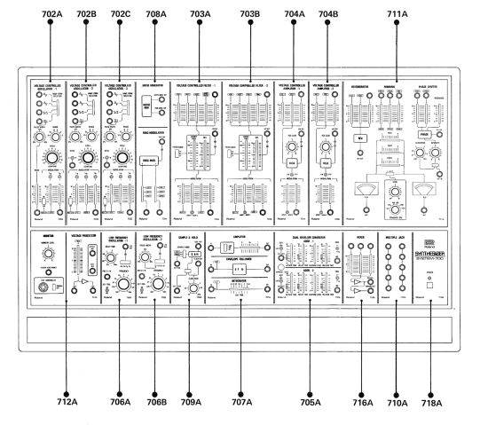 Roland System 700 outline diagram