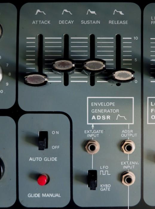 System 100 ADSR front panel
