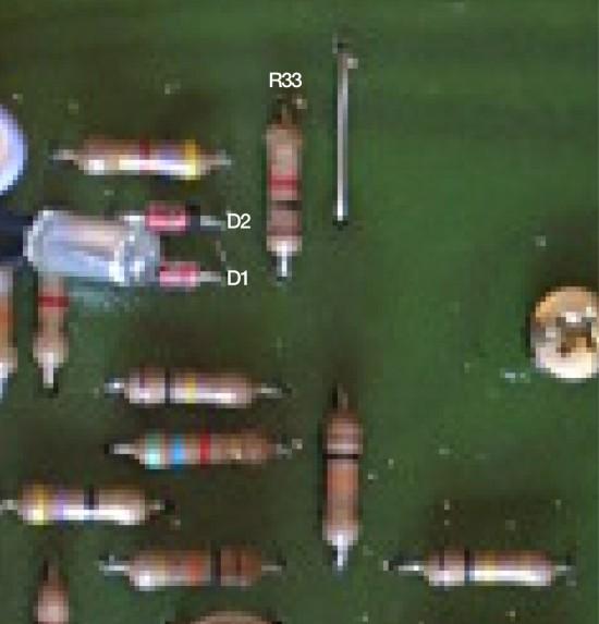 703VCF R33 resistor