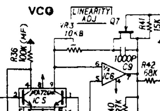 SH-09 linearity adjustment