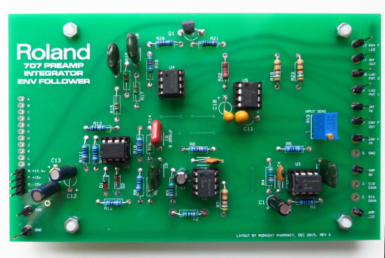 Roland System 700 707 preamp clone