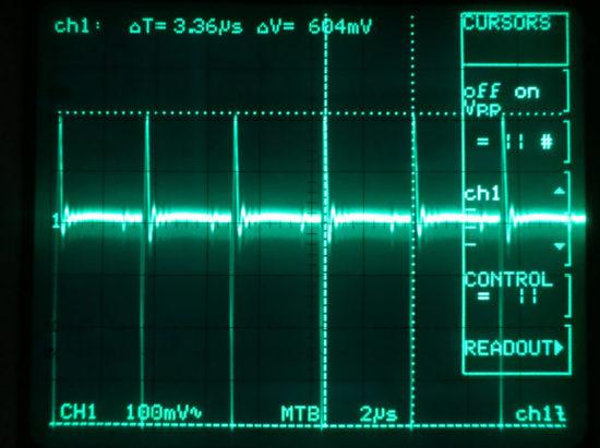 EDP Wasp - noise on the 5V rail