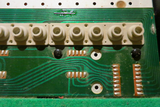 JX3P keyboard connector and track fix