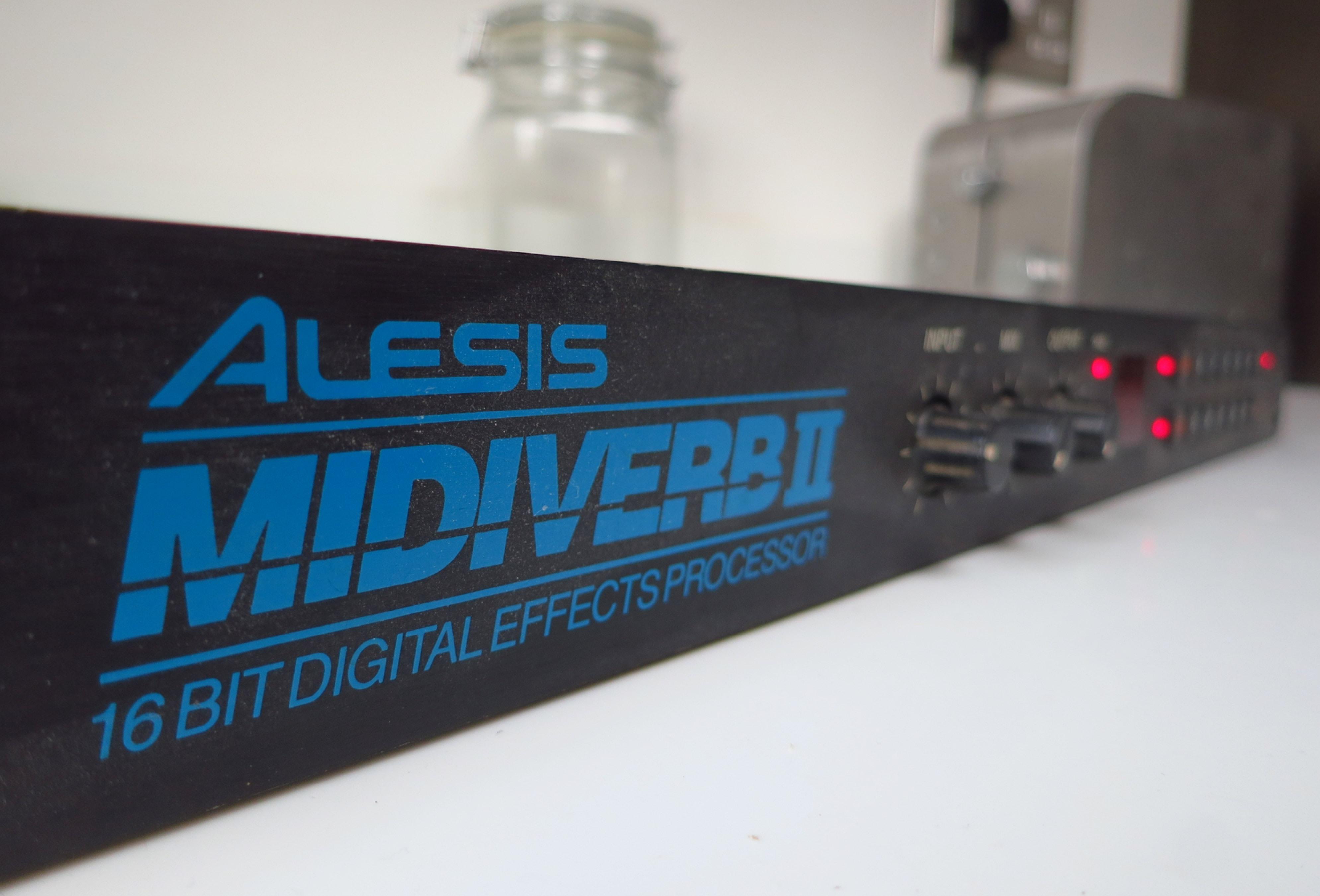 Alesis Midiverb II front panel