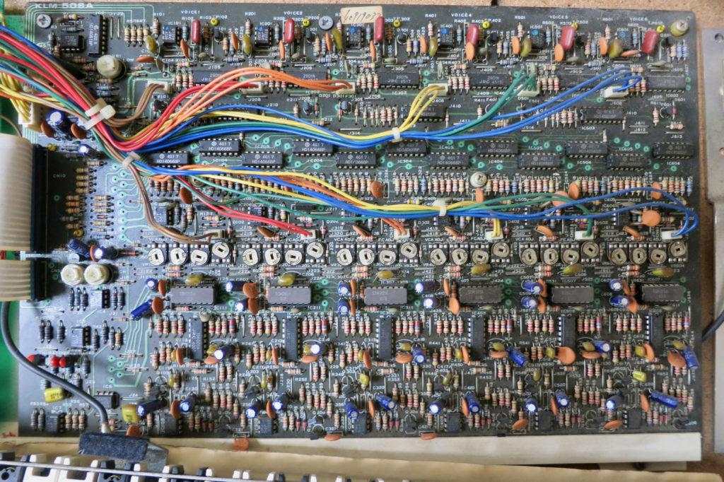 Poly61M main board