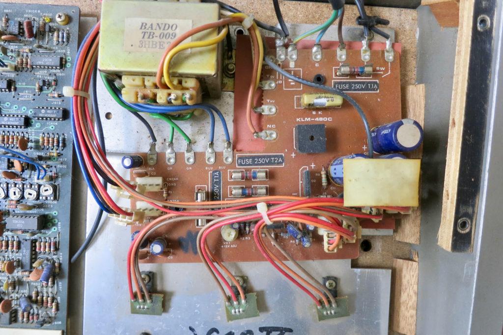 Poly61M PSU board