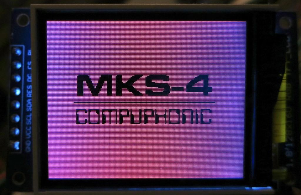 MKS-4 splash screen